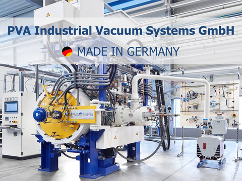 Vacuum Furnace Systems Made in Germany by PVA